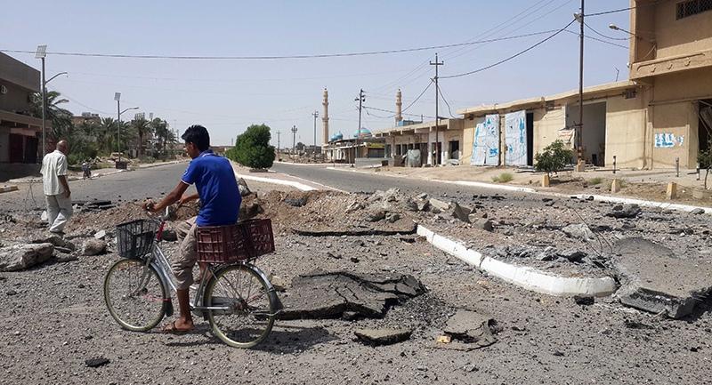 Обстрел Ирака