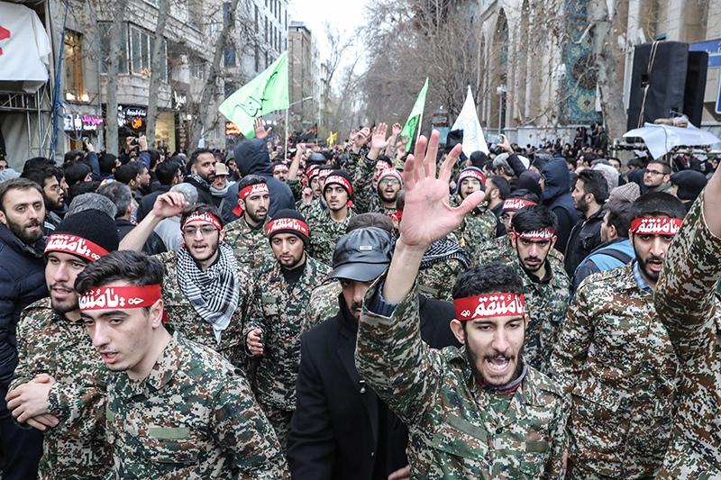 Демонстрация в Иране