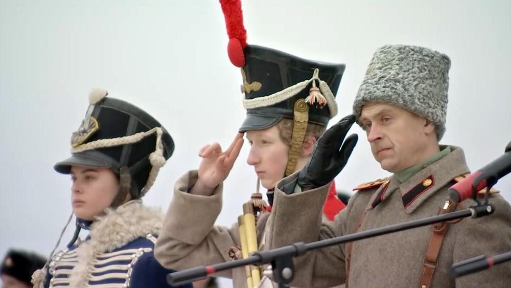 Участники исторической реконструкции