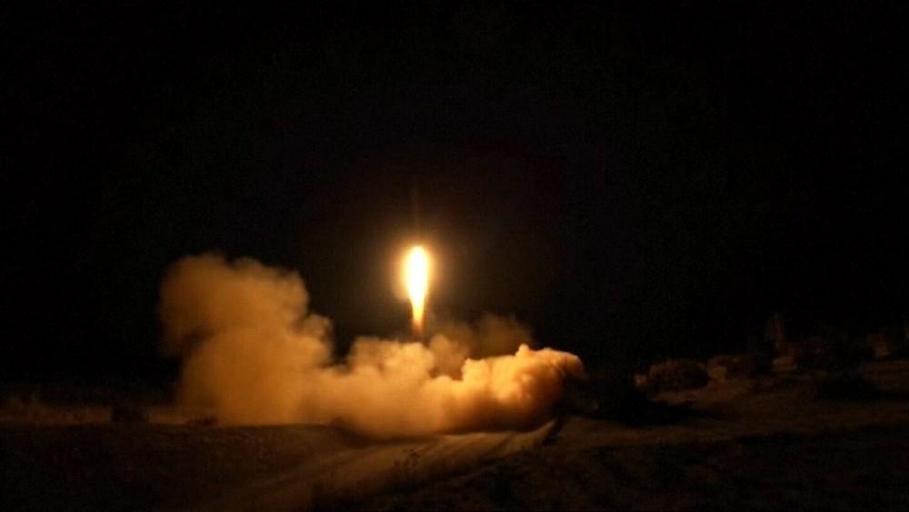 Ракетный обстрел Багдаде
