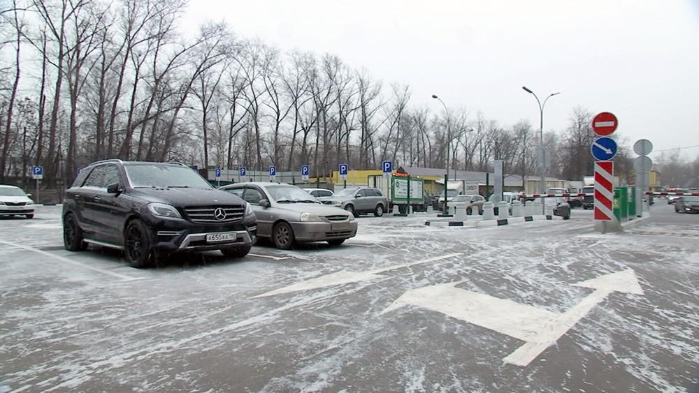 Плоскостная парковка