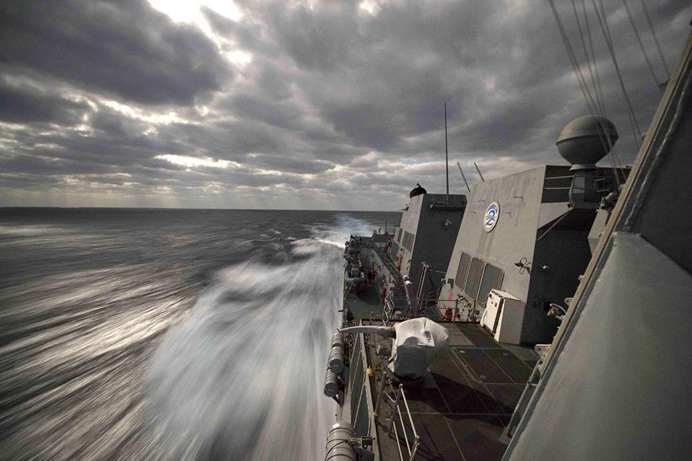 Эсминец Farragut ВМФ США
