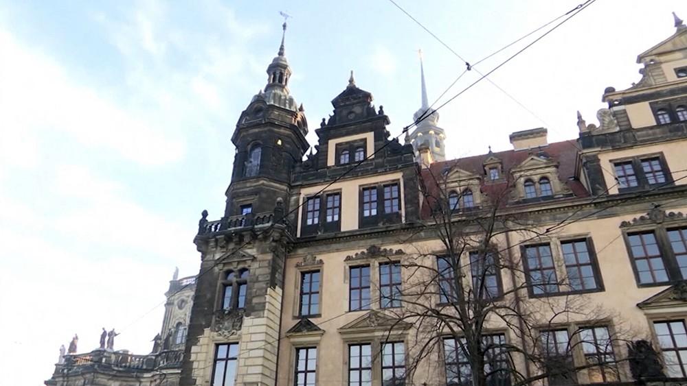 """Саксонский музей - сокровищница """"Зелёный свод"""" в Дрездене"""