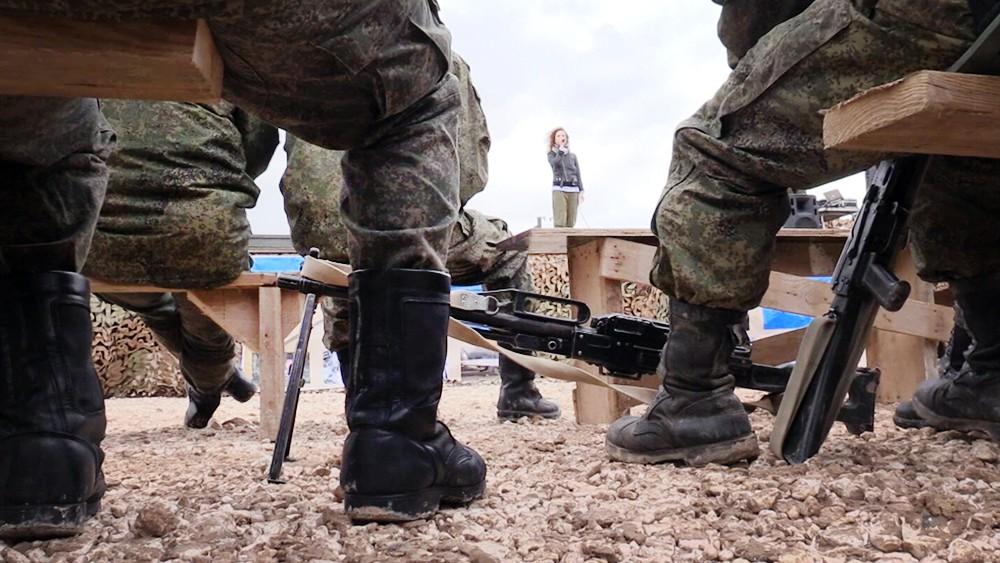 Концерт для российских военных в Сирии