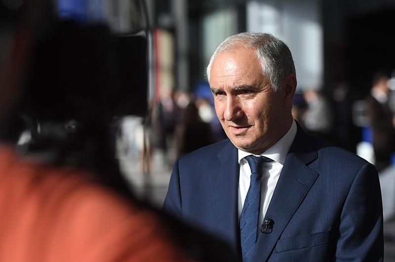 Премьер-министр Абхазии Валерий Бганба