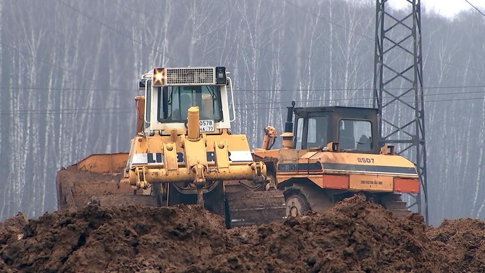Незаконное строительство в Подольске