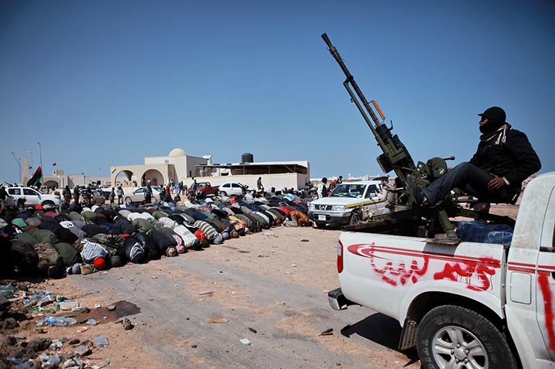 Боевые действия в Ливии