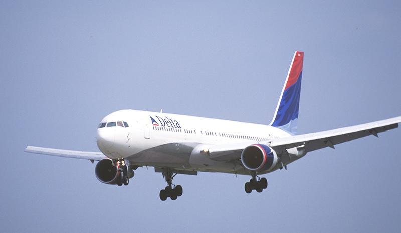 Пассажирский самолет авиакомпании Delta