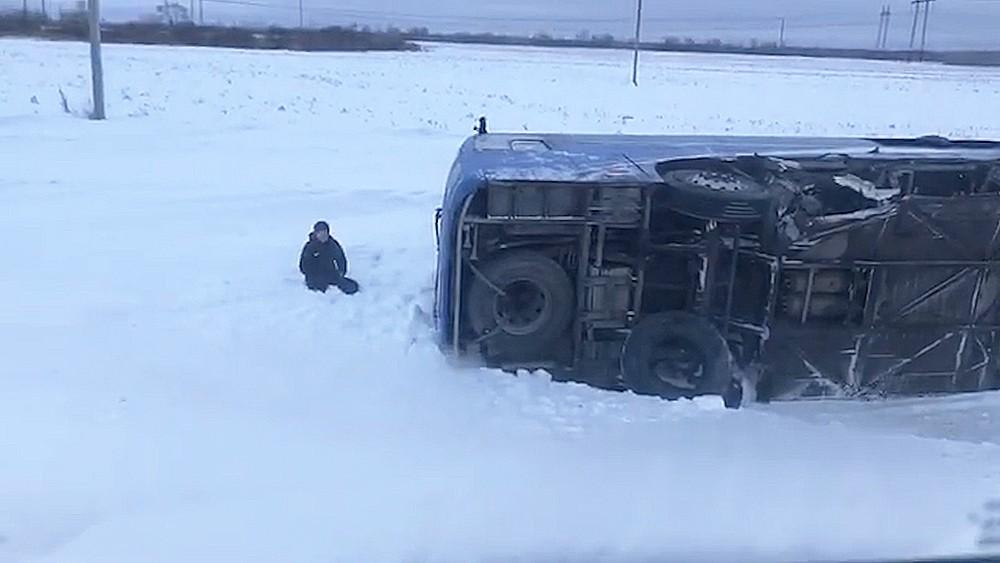 ДТП на трассе Тюмень-Тобольск