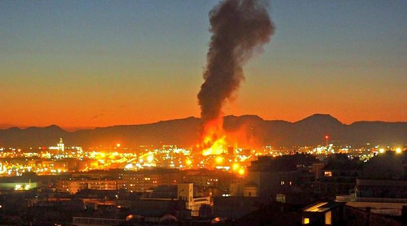 Взрыв на заводе в Испании