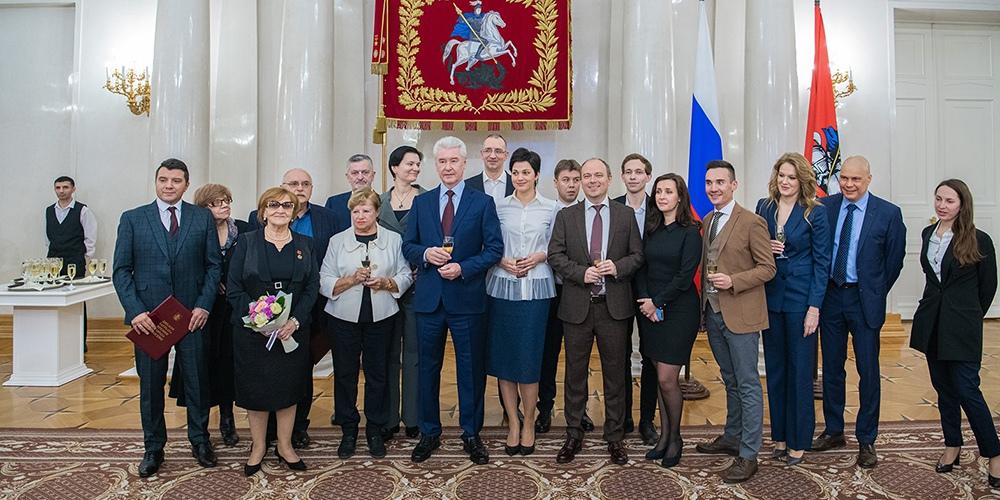 Сергей Собянин вручил премии журналистам Москвы