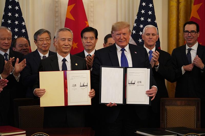 Торговая сделка между США и Китаем