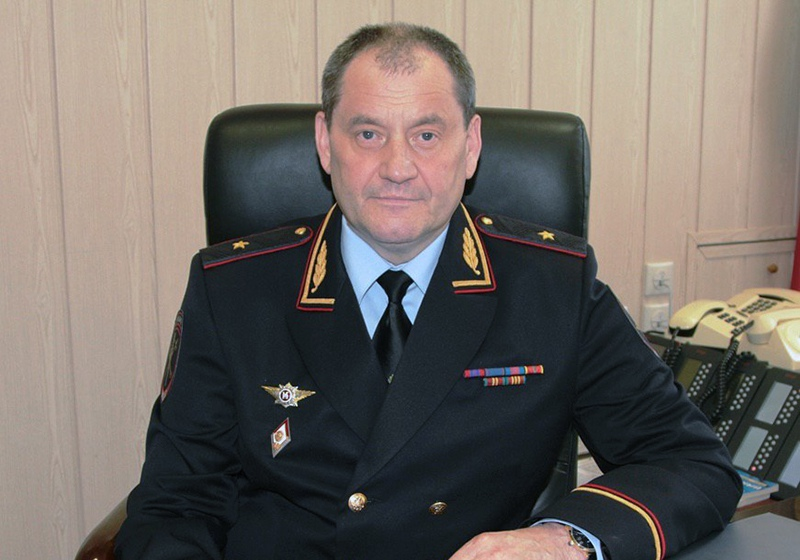Глава МВД Коми Виктор Половников
