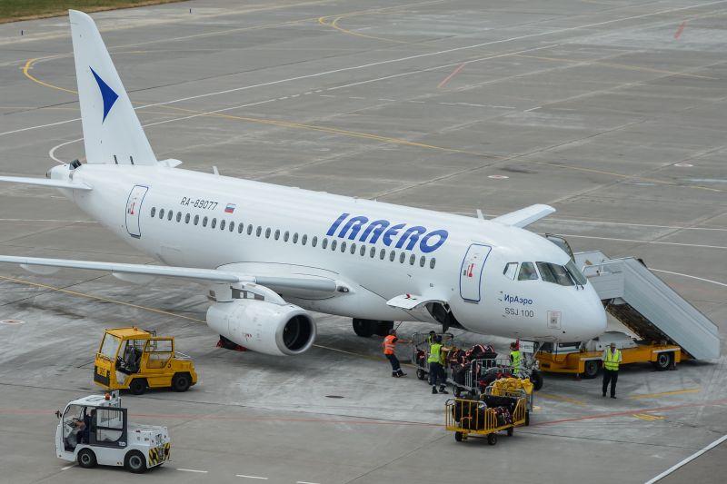 """SSJ-100 """"Ираэро"""""""