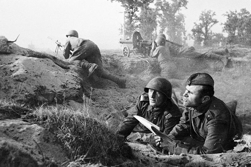 Бои на подступах к Варшаве