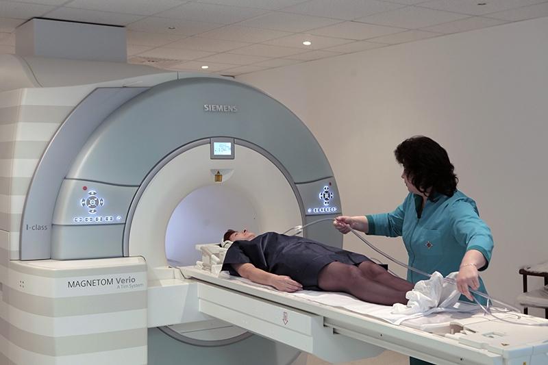 Пациент проходит обследование