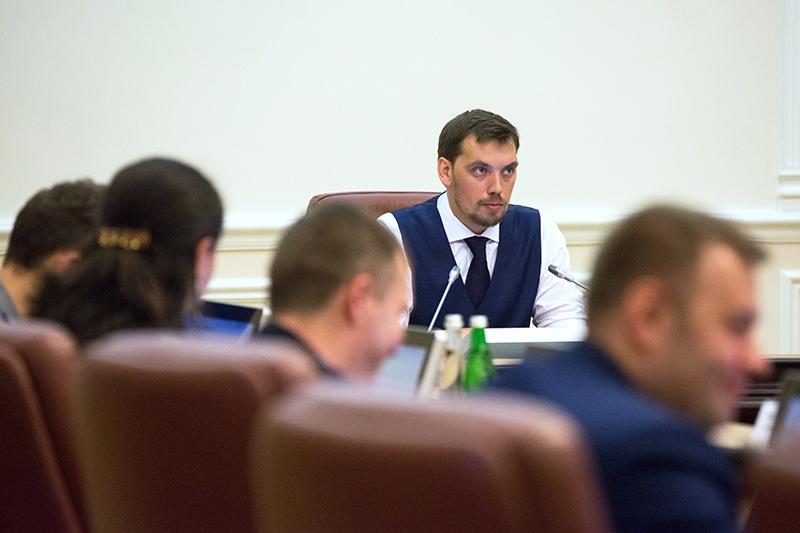 Премьер-министр Украины Алексей Гончарук