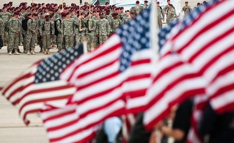 Американские войска в Ираке