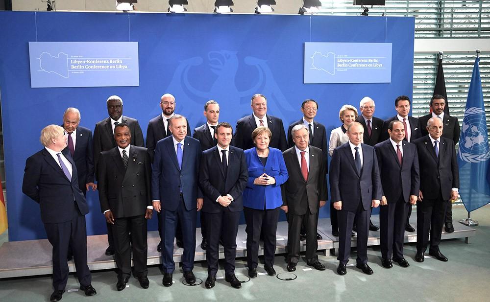 Участники Международной конференции по Ливии