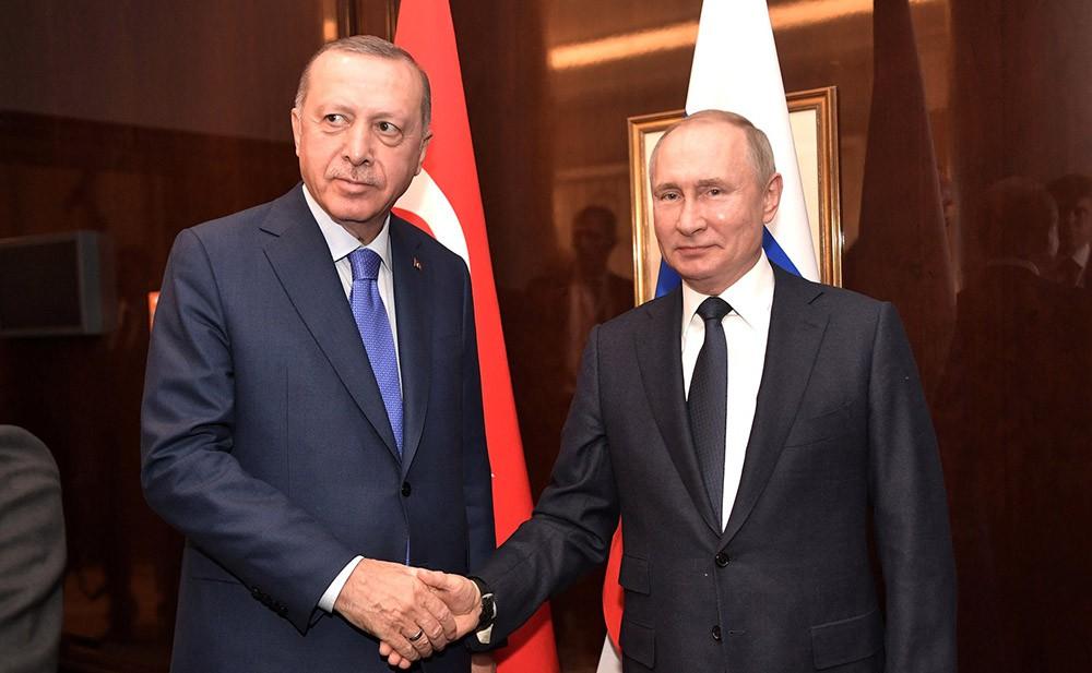 Владимир Пути и Реджеп Тайип Эрдоган