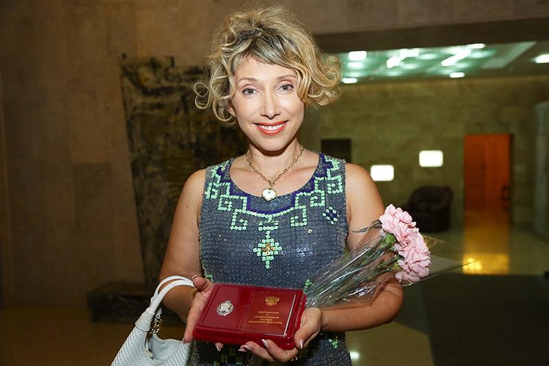 Актриса Елена Воробей