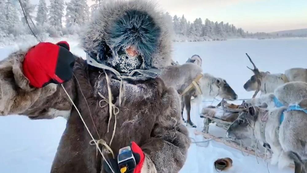 Члены экспедиции в Якутии