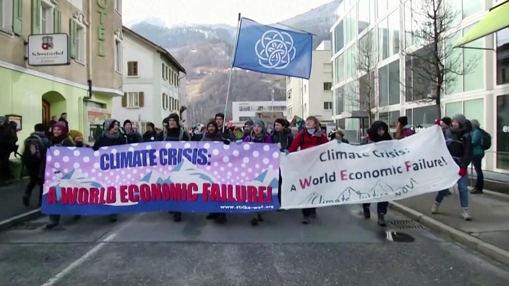 Акция протеста эко-активистов