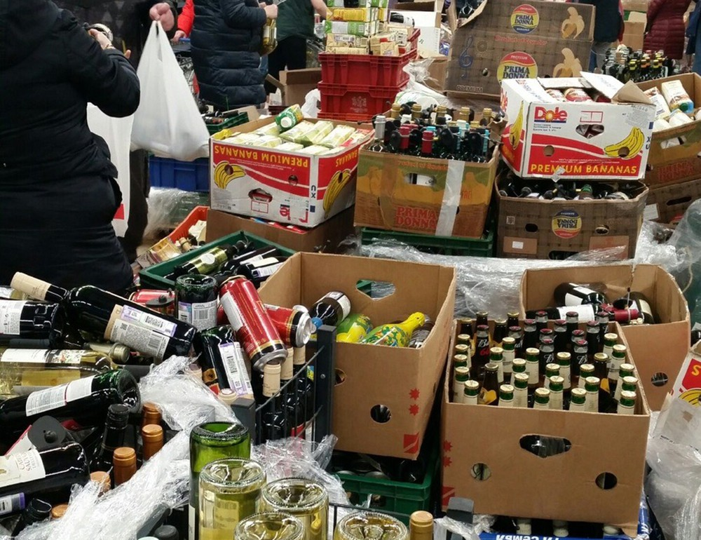 Закрытие супермаркета