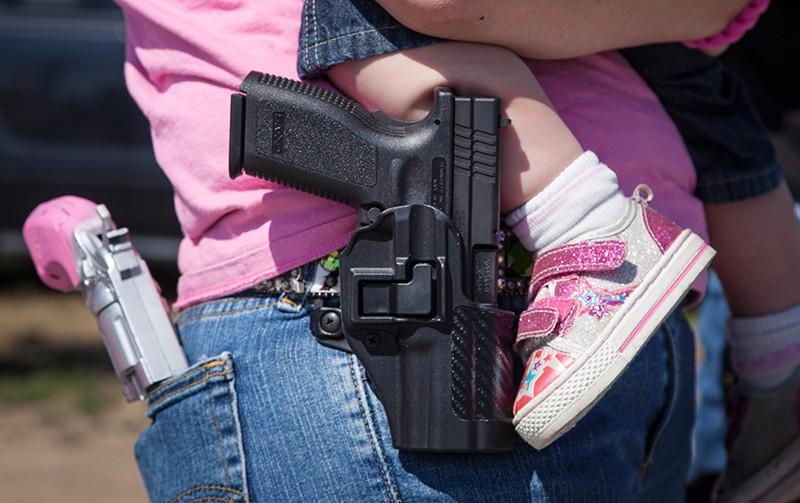 Свободном ношение оружия в США