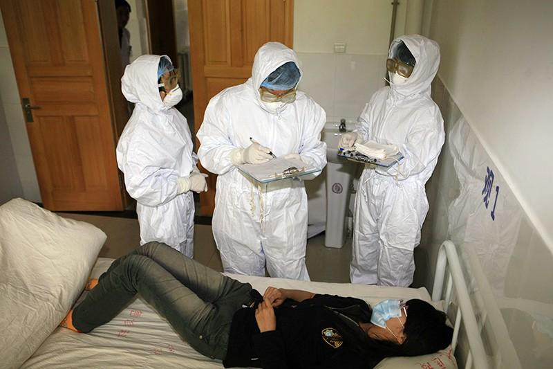 Инфекционисты в Китае