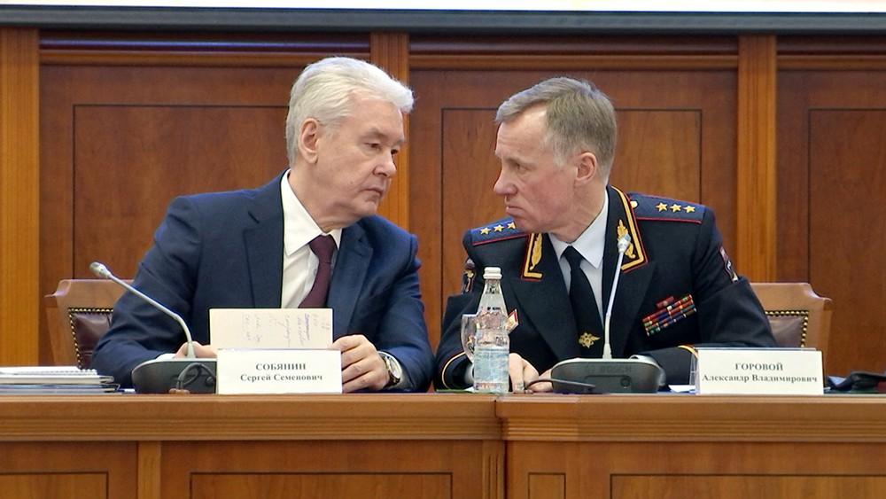 Сергей Собянин и Александр Горовой