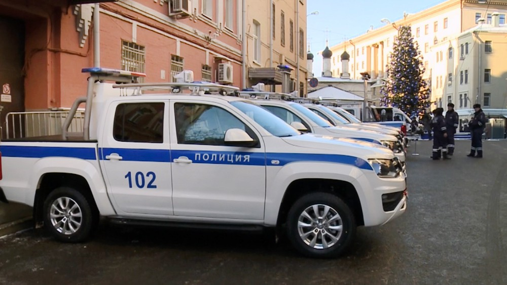 Новые автомобили полиции