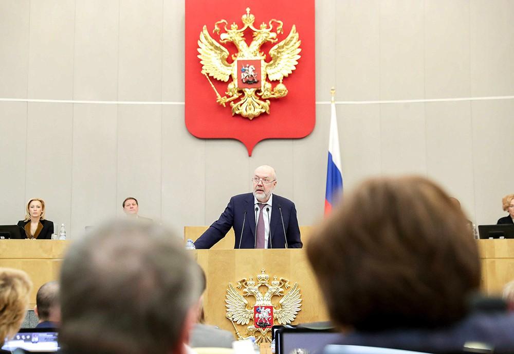 Павел Крашенинников в Госдуме
