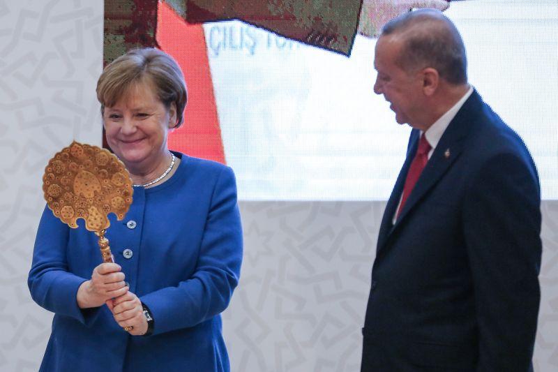 Ангела Меркель и Реджеп Эрдоган