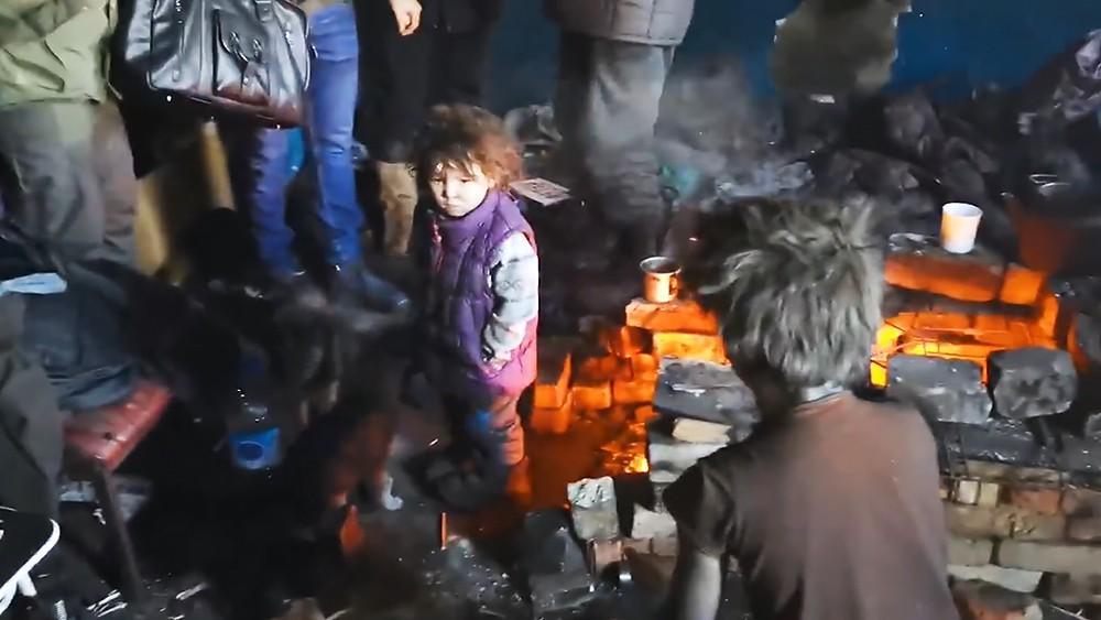 Бездомная семья из Читы