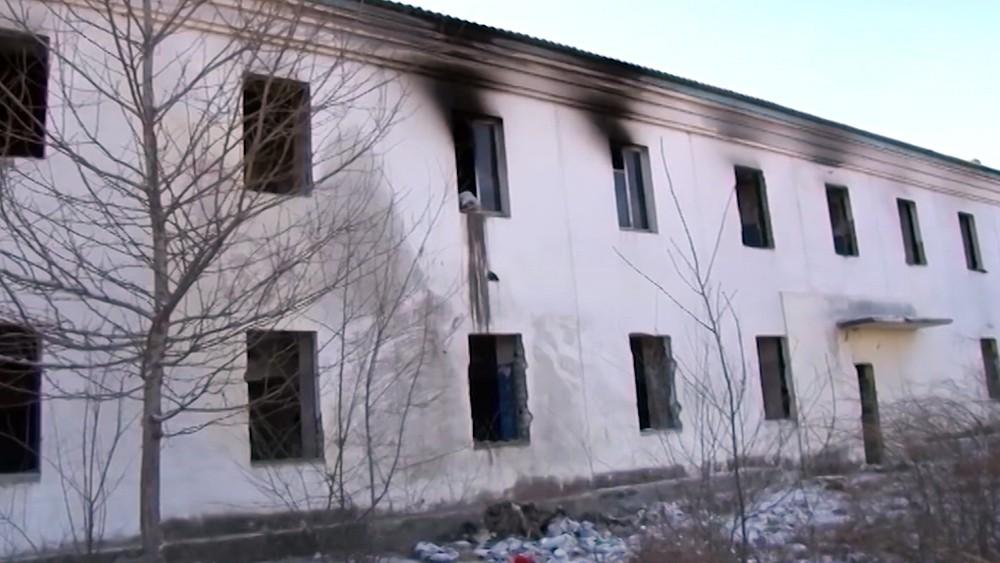 Заброшенный дом в Чите