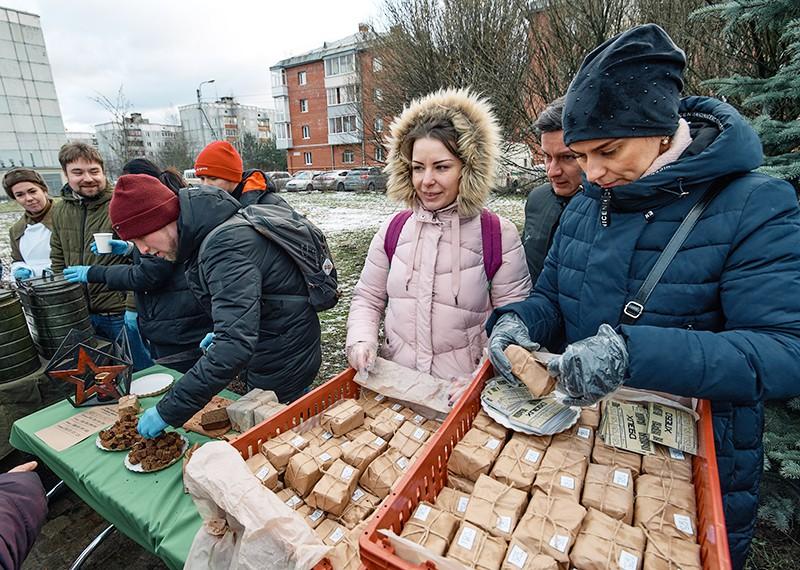 """Всероссийская акция """"Блокадный хлеб"""" в Санкт-Петербурге"""