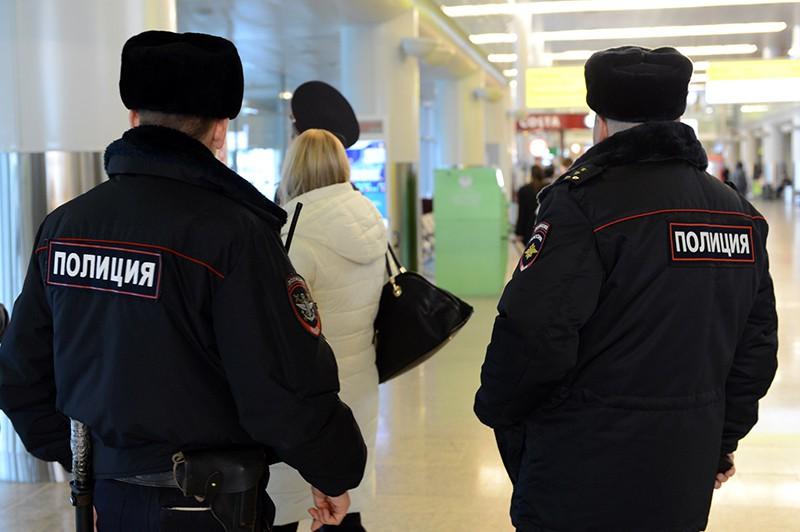 Полиция в аэропорту Шереметьево