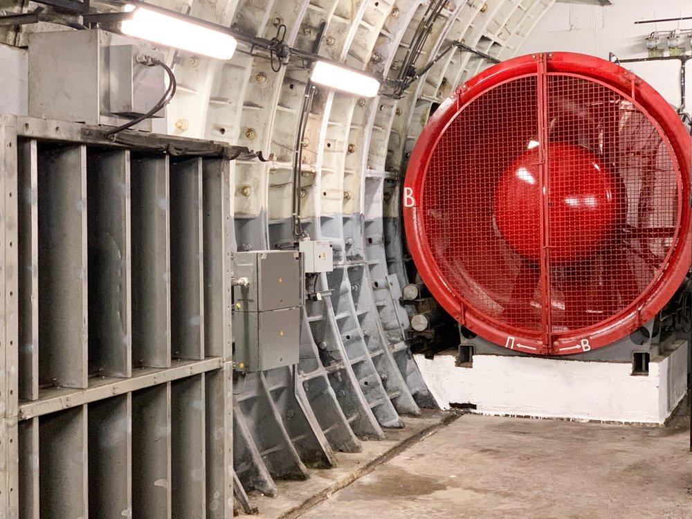 Работа систем вентиляции в Московском метро