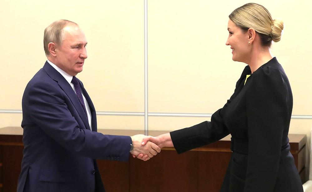 Владимир Путин и Светлана Чупшева