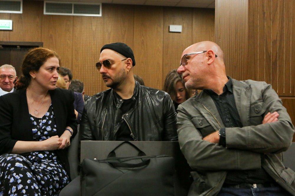Режиссер Кирилл Серебренников в зале суда