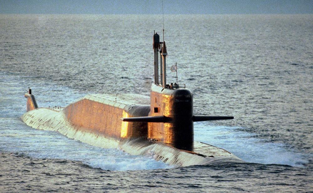 """Подлодка проекта 667БДРМ """"Дельфин"""""""