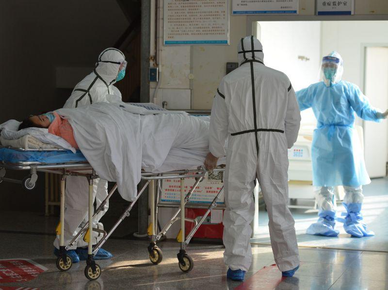 Зараженный коронавирусом