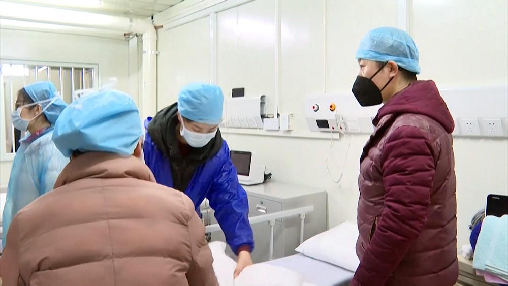Вспышка вируса в Китае