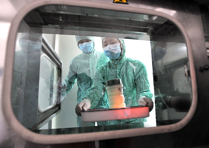Биолаборатория в Китае