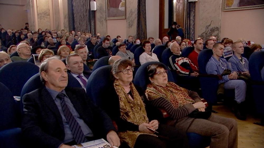 Благотворительный концерт в госпитале им. Бурденко