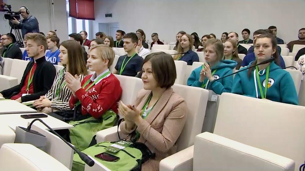 Студенты Тимирязевской академии