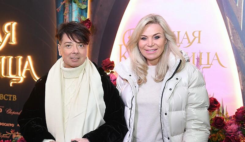 Дизайнер Валентин Юдашкин с супругой Мариной