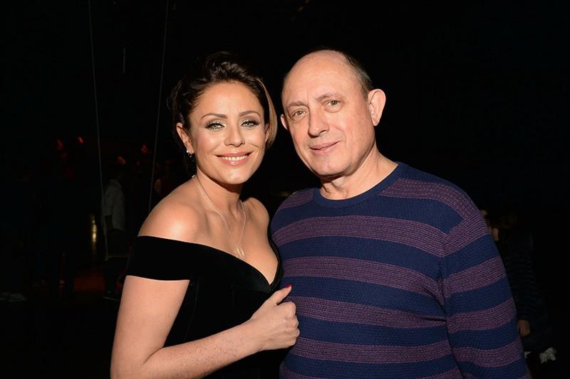 Юлия Началова с отцом Виктором Началовым