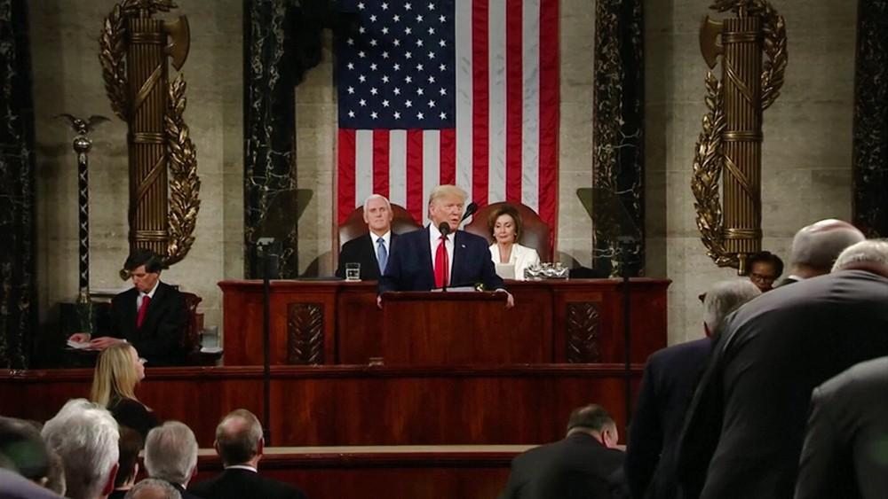 Дональд Трамп в Конгрессе